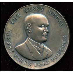 Birks Medal - Awarded to Don Olmstead