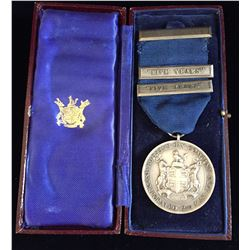 HUDSON'S BAY MEDAL Silver (Hallmarked) Long Service 25 Years