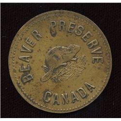 HUDSON��S BAY COMPANY Beaver Preserved Brass