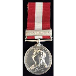 FENIAN RAID 1870 Canada General Service 1866-70