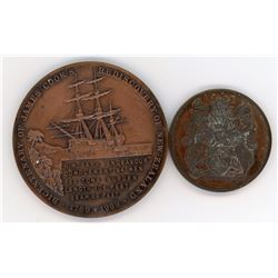 H. Don Allen Collection - Captain James Cook Bicentenary 1969 Medal