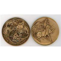 H. Don Allen Collection - New Zealand Historical Medal