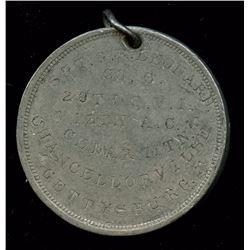 Engraved Civil War Disc