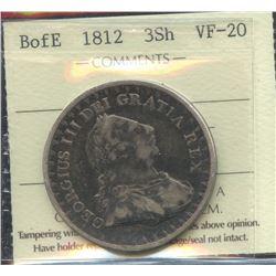Bank of England 3 Shilling Token, 1812