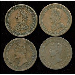 Br. 972 (x2), 976 (x2).  Four Wellingtons.