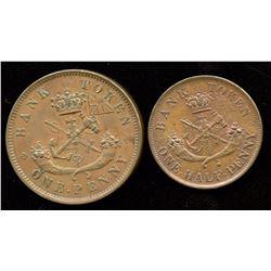 Br. 719, 720.  1857 Bank of Upper Canada.