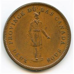 Breton 521, 1837 City Bank, One Penny Token.