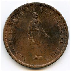Breton 521, 1837 Banque du Peuple, One Penny Token.