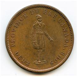 Breton 521, 1837 Bank of Montreal, One Penny Token.