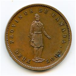 Breton 528, 1852 Quebec Bank, One Penny.