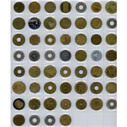 H. Don Allen Collection - Tokens for Various Collecting Specialties. Lot of 247