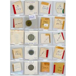 H. Don Allen Collection - North American Transportation Token Medley. Lot of 316