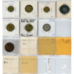 H. Don Allen Collection - North American Bridge Token Medly, Lot of 94