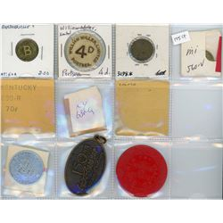 H. Don Allen Collection - Assorted Canadian/US Medals