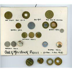 H. Don Allen Collection - Tokens - Odd
