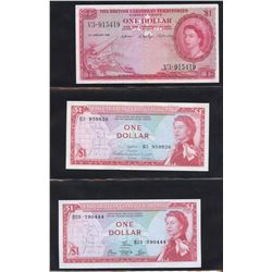 Eastern Caribbean Central Bank Lot of 15 Banknotes