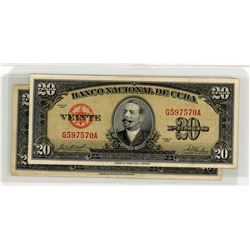 World Banknotes - Cuba Collection
