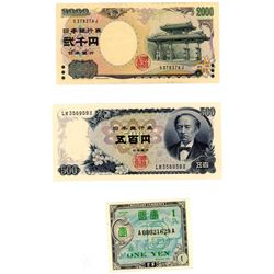 World Banknotes - Japan Collection