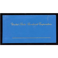 World Banknotes - United States Banknote Corporation - Salesman sample book