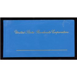 World Banknotes - United States Banknote Corporation - Salesman sample book