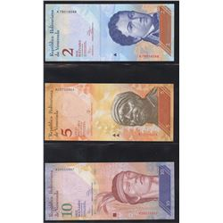 Venezuela Currency Collection