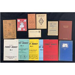 USA Literature Lot of 13 Books, Ephemera