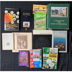 Banking Books, World Coin Books, etc