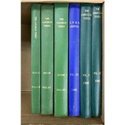 Books - Canadian Token Journals, C.N.R.S.
