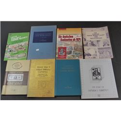 H. Don Allen Collection - Large Lot of Books and Catalogues - Bank Notes and Currency, Part 1