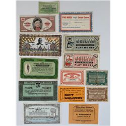 Scrip Lot of 14 Pcs.