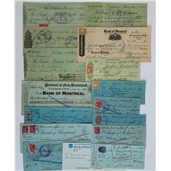 H. Don Allen Collection - Bank of British North America Cheques