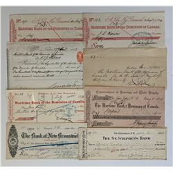 H. Don Allen Collection - Maritime Bank of the Dominion of Canada Documents