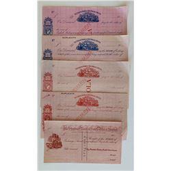 H. Don Allen Collection - Specimen Financial Documents