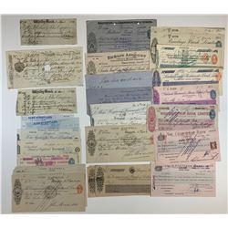 H. Don Allen Collection - British Financial Documents