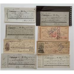 H. Don Allen Collection - Early New Brunswick Financial Documents