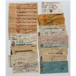 H. Don Allen Collection - Bank Drafts Mixture