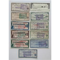 H. Don Allen Collection - Travellers Cheques, Canada