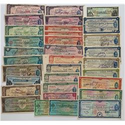H. Don Allen Collection - Travellers Cheques, Great Britain