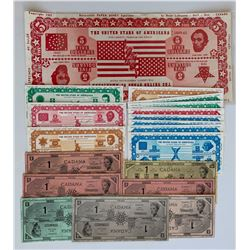 H. Don Allen Collection - Reversible Money Concept Notes