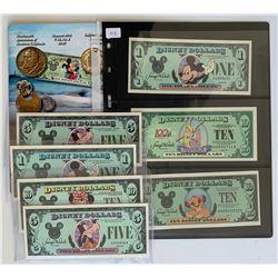 H. Don Allen Collection - Disney Dollars