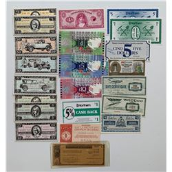H. Don Allen Collection - Department Store Coupons, Gift Certificates