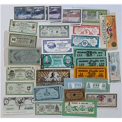 H. Don Allen Collection - Municipal and Community Coupons