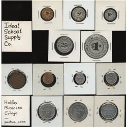 H. Don Allen Collection - Maritime Business College, Halifax, Practice Coins