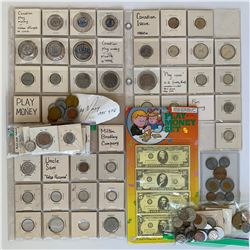 H. Don Allen Collection - Large Accumulation of Play Money