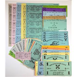 H. Don Allen Collection - School Currency for Educational Use, Nova Scotia Teachers Col