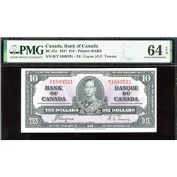 Bank of Canada $10, 1937