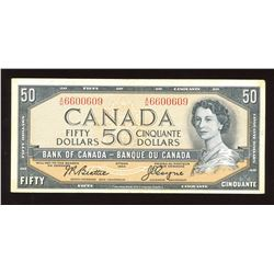 Bank of Canada $50, 1954