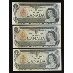 Bank of Canada 1973 $1 Replacement Lot