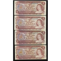 Bank of Canada 1974 $2 Replacement Lot