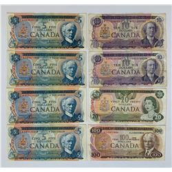 Bank of Canada Multi-Colour Replacement Note Collection